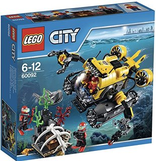 Lego City Tiefsee-U-Boot