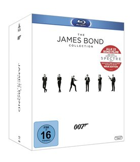 The James Bond Collection: Alle 23 Filme inkl. Leerplatz für Spectre