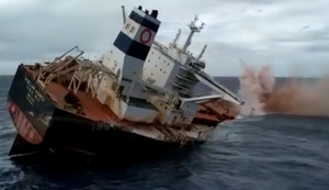 Frachter versenken