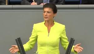 Sahra Wagenknecht �ber die Privatisierung der Autobahnen
