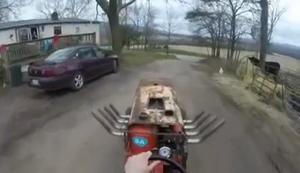 Flinker Mini-Traktor