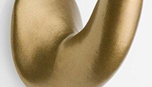 Goldener Handtuchhalter