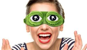 Frosch-Augen-Maske