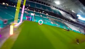 Schnellste Runde beim Drohnen-Rennen