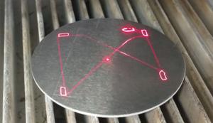 Highspeed-Lasergravur
