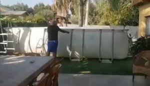 Mal den Pool abbauen