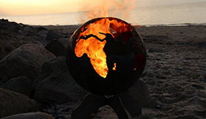 BlazeBall Feuer-Weltkugel