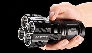NiteCore TM26 LED Taschenlampe