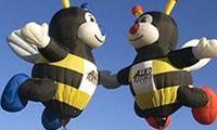 Verr�ckte Heissluftballons