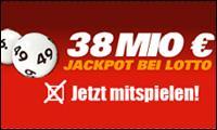 38.000.000 Euro im Lotto Jackpot