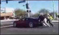 Bugatti Veyron gaaaanz langsam