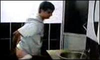 Arsch abwaschen