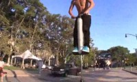 Coole Pogostick Backflips inkl Fail!