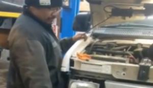 Mal den neuen Motor starten