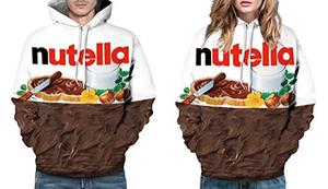 Nutella-Kapuzenpullover
