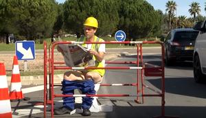 Bauarbeiter Remi Gaillard