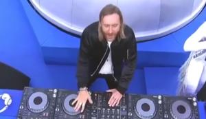 David Guetta bei der EM 2016 Finalshow