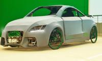 Umweltschonender Audi TT