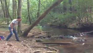 Tarzan im Wald