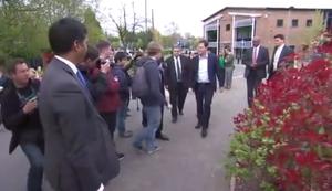 Selfie-Fail mit Nick Clegg