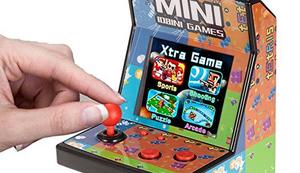 80er Retro Mini Arcade Spielautomat