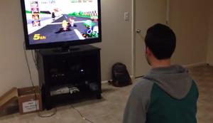 Mario Kart ohne Ton
