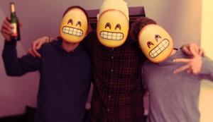 Emoji Emoticons Masken