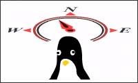 shuffle the pinguin