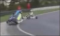 go-kart crash compilation