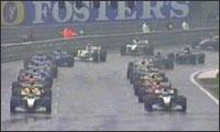 Formel 1 Massencrash