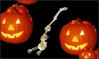 helloween skelett