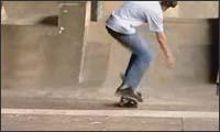 old skool skateboarding