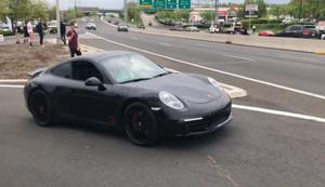Den Porsche präsentieren