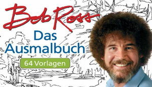 Bob Ross Ausmalbuch