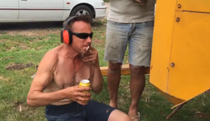 Bier vs Luftkompressor