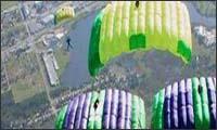skydiving stunts