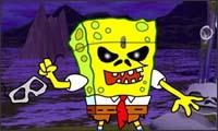 spongebob - iron maiden