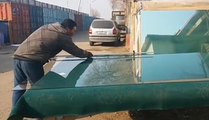 Glasscheiben zuschneiden
