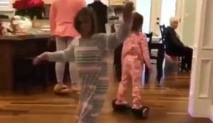 Drehwurn auf dem Hoverboard