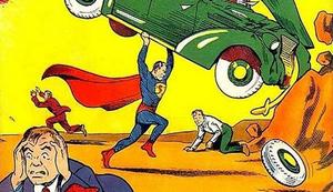 Erster Superman Comic von 1938