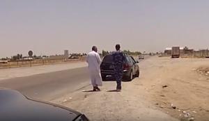 Taxi fahren im Irak
