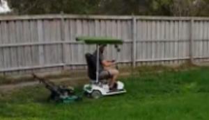 Rasenmäher-Trick