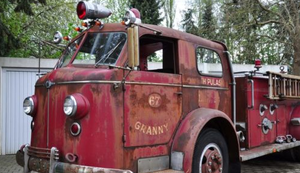 Amerikanischer Feuerwehrwagen von 1947
