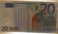 Stolzer Preis für einen 20 Euro Schein