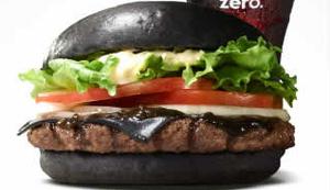 Schwarzer Burger - die Realit�t sieht anders aus