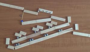 Murmeln und Magnete
