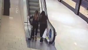 An der Rolltreppe gescheitert