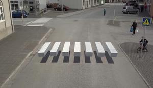 3-Zebrastreifen in Island