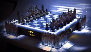 Das Schachbrett für Batman Fans