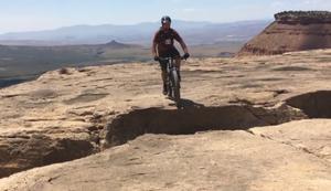 Radfahren am Abgrund